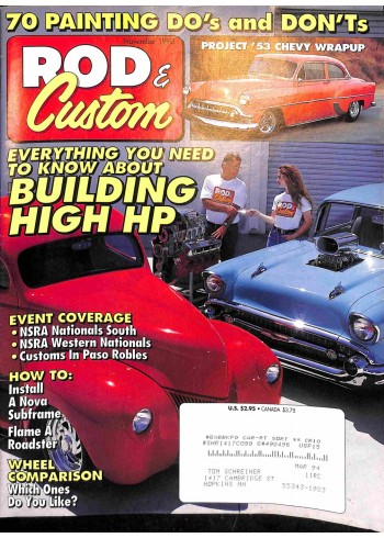 Rod and Custom, November 1993