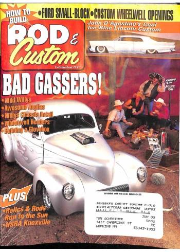 Cover Print of Rod and Custom, September 1999