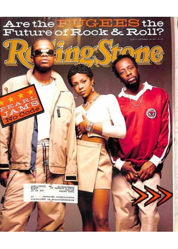 Cover Print of Rolling Stone, September 5 1996