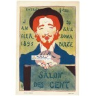 Salon Des Cent, January, 1895. Poster Print.