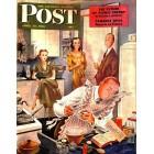 Cover Print of Saturday Evening Post, April 13 1946