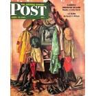 Cover Print of Saturday Evening Post, April 14 1945