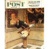Cover Print of Saturday Evening Post, April 16 1955