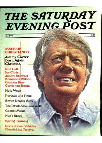 Cover Print of Saturday Evening Post, April 1977