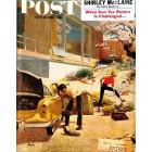 Cover Print of Saturday Evening Post, April 22 1961