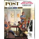 Cover Print of Saturday Evening Post, April 4 1959