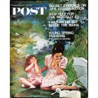 Cover Print of Saturday Evening Post, April 6 1968