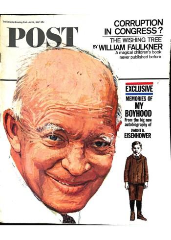 Cover Print of Saturday Evening Post, April 8 1967