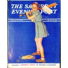 Cover Print of Saturday Evening Post, August 10 1940