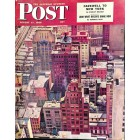 Cover Print of Saturday Evening Post, August 17 1946