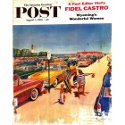 Cover Print of Saturday Evening Post, August 1 1959