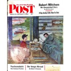 Cover Print of Saturday Evening Post, August 25 1962