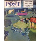 Cover Print of Saturday Evening Post, August 29 1953