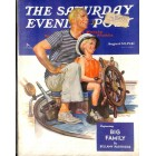 Cover Print of Saturday Evening Post, August 30 1941