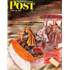 Cover Print of Saturday Evening Post, August 31 1946