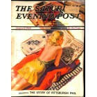 Cover Print of Saturday Evening Post, August 3 1940