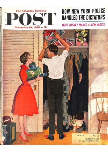 Cover Print of Saturday Evening Post, December 10 1960