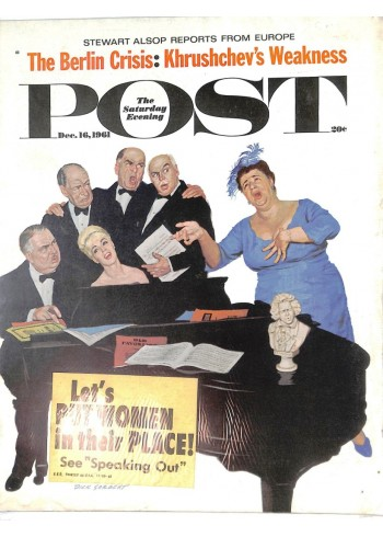 Cover Print of Saturday Evening Post, December 16 1961