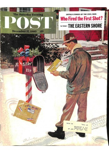 Cover Print of Saturday Evening Post, December 17 1960