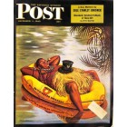 Cover Print of Saturday Evening Post, December 1 1945