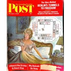 Cover Print of Saturday Evening Post, December 1 1962