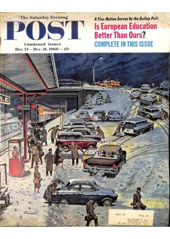 Cover Print of Saturday Evening Post, December 24 1960