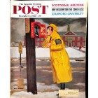 Cover Print of Saturday Evening Post, December 3 1960