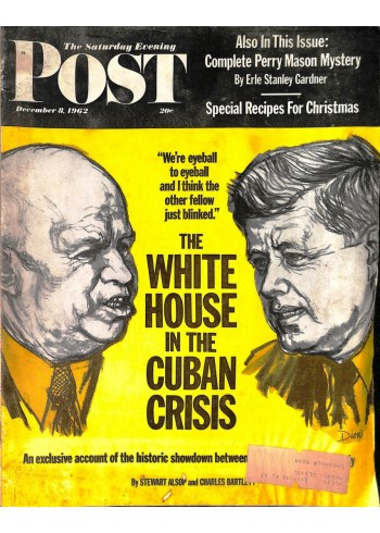 Cover Print of Saturday Evening Post, December 8 1962