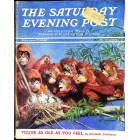 Cover Print of Saturday Evening Post, February 17 1940