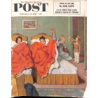 Cover Print of Saturday Evening Post, February 20 1954