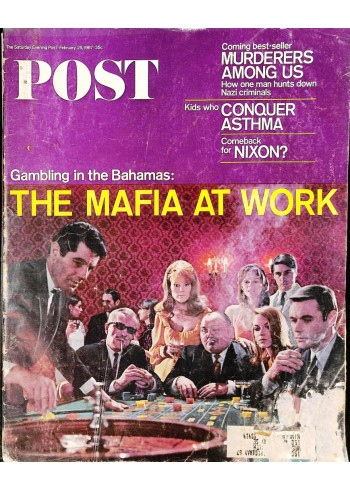 Cover Print of Saturday Evening Post, February 25 1967