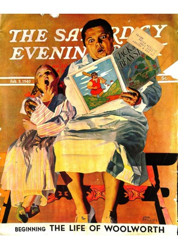 Cover Print of Saturday Evening Post, February 3 1940