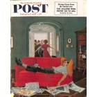 Cover Print of Saturday Evening Post, February 6 1954