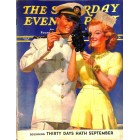 Cover Print of Saturday Evening Post, February 8 1941