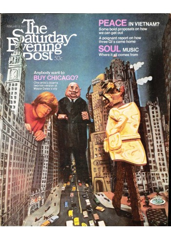 Cover Print of Saturday Evening Post, February 8 1969