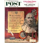 Cover Print of Saturday Evening Post, January 17 1959