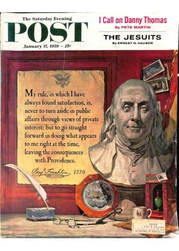 Saturday Evening Post, January 17 1959