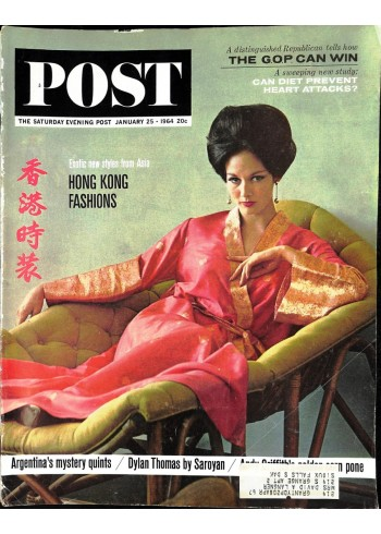 Cover Print of Saturday Evening Post, January 25 1964