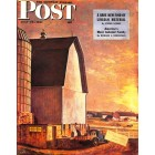 Cover Print of Saturday Evening Post, July 19 1947