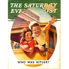 Cover Print of Saturday Evening Post, July 20 1940