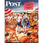 Cover Print of Saturday Evening Post, July 27 1946