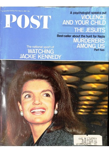 Cover Print of Saturday Evening Post, March 11 1967