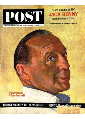 Cover Print of Saturday Evening Post, March 2 1963