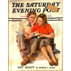 Cover Print of Saturday Evening Post, May 25 1940