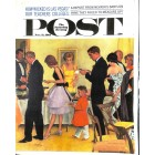 Cover Print of Saturday Evening Post, November 11 1961