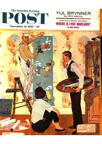 Saturday Evening Post, November 22 1958