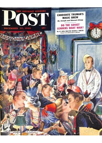 Cover Print of Saturday Evening Post, November 31 1949