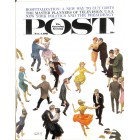 Cover Print of Saturday Evening Post, November 4 1961