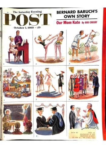Saturday Evening Post, October 1 1960