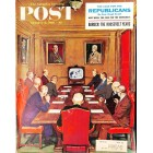 Cover Print of Saturday Evening Post, October 8 1960